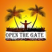 Open The Gate von Various Artists