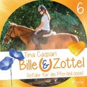 Gefahr auf der Pferdekoppel - Bille und Zottel 6 (Ungekürzt) von Tina Caspari