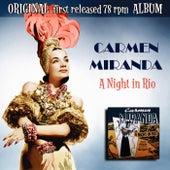 A Night in Rio de Carmen Miranda