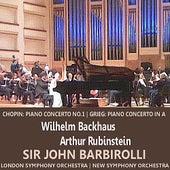 Chopin: Piano Concerto No. 1 in E Minor - Grieg: Piano Conceto in A Minor de Various Artists