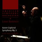 Copland: Symphony No. 3 by American Symphony Orchestra