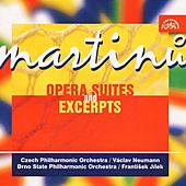 Martinu:  Opera Suites and Excerpts /Theatre behind the Gate, Comedy on the Bridge, The Three Wishes, Mirandolina) by Various Artists