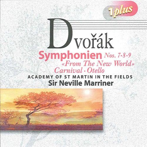 Dvorak: Symphonies Nos. 7, 8 & 9 by Neville Marriner