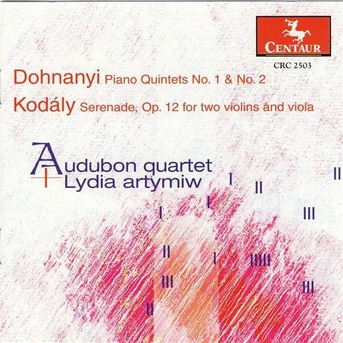 Dohnanyi: Piano Quintets Nos. 1 and 2 - Kodaly: Serenade by Lydia Artymiw