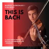 Partita For Violin Solo No.2 In D Minor,  BWV 1004: Sarabande by Manuel Gonzalez
