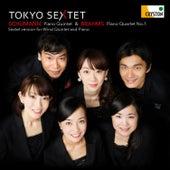 Brahms: Piano Quartet No. 1 & Schumann: Piano Quintet (Sextet Version for Wind Quintet and Piano) van Tokyo Sextet