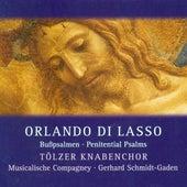 Lasso, O.: Psalms 6, 32 and 38 de Gerhard Schmidt-Gaden