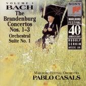 Bach: Brandenburg Concerti Nos. 1 - 3 & Orchestral Suite No. 1 von Pablo Casals