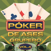 Póker De Ases Grupero Vol. 4 de Various Artists