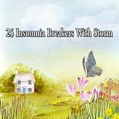 25 Insomnia Breakers with Storm by Rain Sounds and White Noise