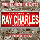 Live in the Studio - KRLU Stuudios,  Austin TX 1979 de Ray Charles
