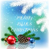 Merry Blues Christmas by Various Artists