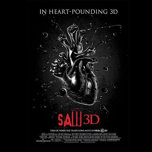 Saw 3d (Original Score Soundtrack) by Charlie Clouser