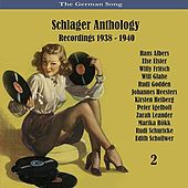 The German Song / Schlager Anthology / Recordings 1938 - 1940, Vol. 2 de Various Artists