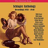 The German Song / Schlager Anthology / Recordings 1938 - 1940, Vol. 1 de Various Artists