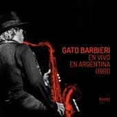 Gato Barbieri en Vivo en Argentina von Gato Barbieri