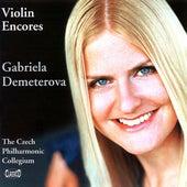 Violin Encores von Gabriela Demeterová