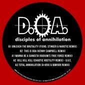 D.O.A. Muthafuckin Remixes de Disciples of Annihilation
