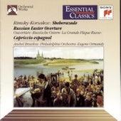 Rimsky-Korsakov: Scheherazade, Op. 35, Russian Easter Festival, Op. 36 & Capriccio espagnol, Op. 34 by Philadelphia Orchestra