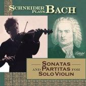 Schneider Plays Bach - Sonatas & Partitas de Alexander Schneider