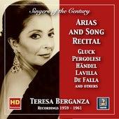Singers of the Century: Teresa Berganza – Aria and Song Recital (2019 Remaster) de Teresa Berganza