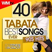 40 Tabata Best Songs Ever: 90s Hits For Fitness & Workout (20 Sec. Work and 10 Sec. Rest Cycles With Vocal Cues / High Intensity Interval Training Compilation for Fitness & Workout) by Workout Music Tv