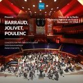 INA Presents: Barraud, Jolivet, Poulenc by Orchestre National de France at the Maison de la Radio (Recorded 19th November 1964) de Orchestre National de France