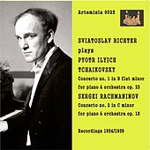 Tchaikovsky: Piano Concerto No. 1 in B-Flat Major, Op. 23, TH 55 - Rachmaninoff: Piano Concerto No. 2 in C Minor, Op. 18 de Sviatoslav Richter