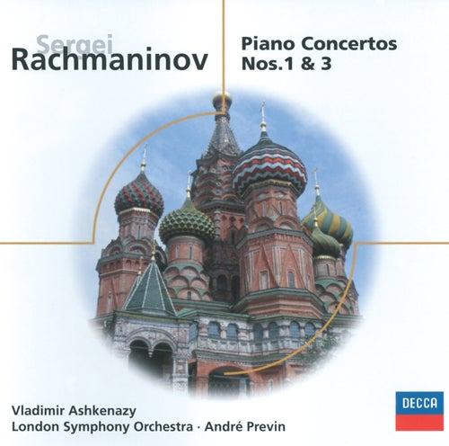 Rachmaninov: Piano Concertos Nos.1 & 3 by Vladimir Ashkenazy