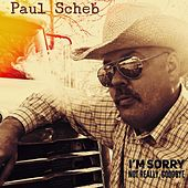 I'm Sorry, Not Really Goodbye de Paul Scheb