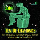 Ten of Diamonds by Glow