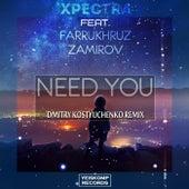 Need You (Dmitry Kostyuchenko Remix) by Farrukhruz Zamirov Xpectra