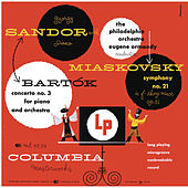 Bartók: Piano Concerto No. 3 & Myaskovsky: Symphony No. 21 (Remastered) di György Sandor