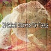 34 Select Storms for Focus de Thunderstorm Sleep