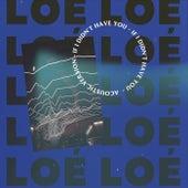 If I Didn't Have You (Acoustic Version) de Loé