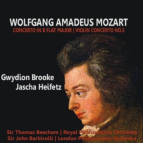 Mozart: Concerto in B-Flat Major, Violin Concerto No. 5 by Various Artists