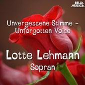 Unvergessene Stimme: Lotte Lehmann de Lotte Lehmann