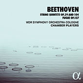 Beethoven: String Quintets Op. 29 and 104, Fugue Op. 137 by WDR Symphony Orchestra Cologne Chamber Players