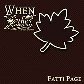 When The Leaves Fall Down by Patti Page