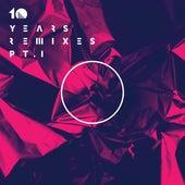 10 Years Remixes, Part I von Various Artists