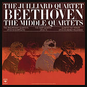 Beethoven: The Middle Quartets, Op. 59 Nos. 1 - 3; Op. 74 & Op. 95 (Remastered) von Juilliard String Quartet