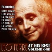 Leo Ferre At His Best Vol 1 de Leo Ferre