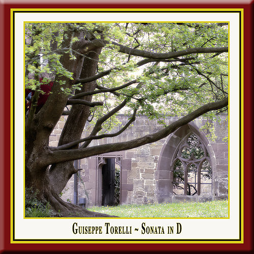 Torelli: Sonata in D (G.1) for Trumpet, 2 Violins, Viola and Basso Continuo by Wolfgang Bauer Consort