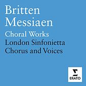 Britten & Messiaen - Choral Works de Terry Edwards