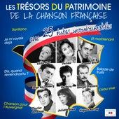 Les trésors du patrimoine de la chanson française von Various Artists