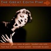 The Great Edith Piaf Vol2 de Edith Piaf
