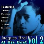 Jacques Brel At His Best Vol 2 by Jacques Brel