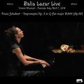 Franz Schubert: Impromptu No. 3 in G-Flat Major D. 899, Op. 90 (Live) by Dalia Lazar