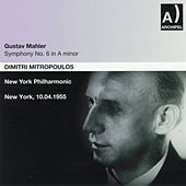 Gustav Mahler : Symphony No. 6 In A minor (New York 1955) by Dimitri Mitropoulos