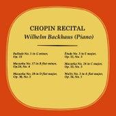Chopin Recital de Wilhelm Backhaus
